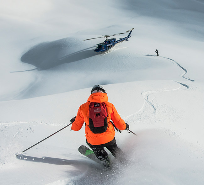 Heliskiing - Mike Wiegele - Powder - Canada