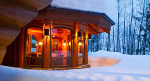 Heliskiing Canada - Eleanor Lake Estate - Coziness