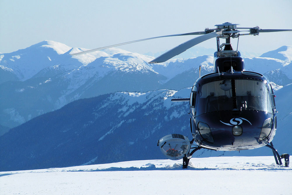 Heliskiing Skeena Mountains Helikopter